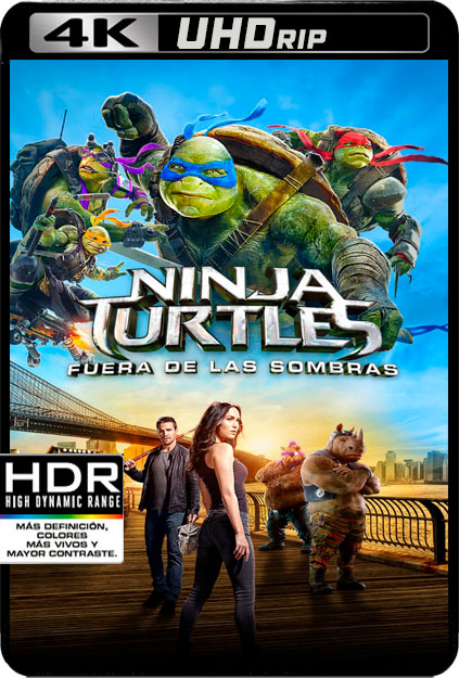 NINJA TURTLES 2 [4K UHDRIP][2160P][HDR10][AC3 5.1-CASTELLANO-INGLES AC3 5.1+SUBS][ES-EN] torrent